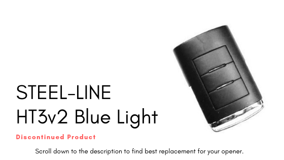 Steel-Line HT3v2 Blue Light