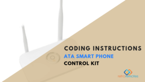 Coding Instructions for ATA Smart Phone Control Kit