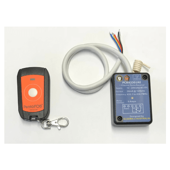 Elsema FOBKIT Waterproof Remote and Receiver