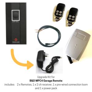 Upgrade Kit for B&D MPC4 Garage