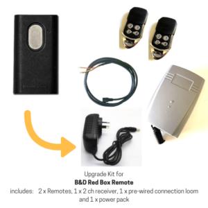 Upgrade Kit for B&D Red Box Garage
