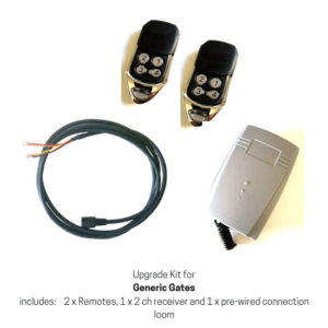 Upgrade kit for a generic gate