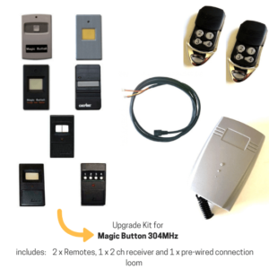 Upgrade Kit for Magic Button 304MHz