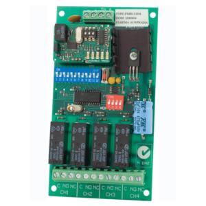 Elsema 151MHz - 4 Channel Receiver 12VDC - FMR15104