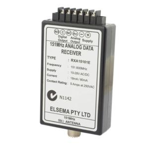 Elsema 151MHz Analog Receiver and Case - RXA15101E