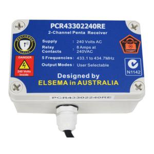 Elsema Penta 2 Ch Receiver 240V with enclosure case
