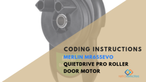 How to Install the Merlin MR655EVO QuietDrive Pro Roller Door Motor