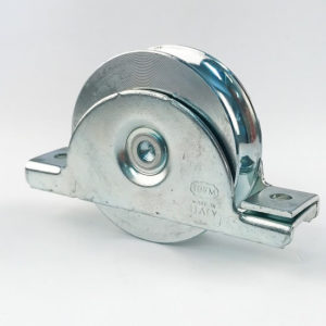 Gate Wheel Double Bearing W/ Internal Cradle 90mm Dia
