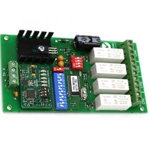 ELSEMA 151MHz - 4 CH RECEIVER 12VDC - FMR15104