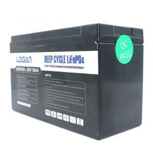 12V LIFEP04 9aH Lithium Battery